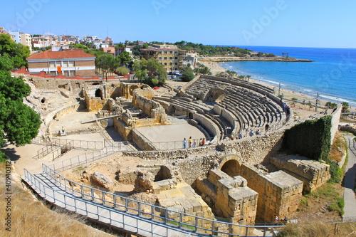 Amphithéâtre romain de Tarragone en Espagne