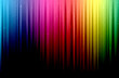 canvas print picture - dark abstract spectrum background