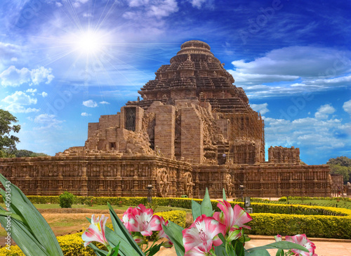 Fotografie, Obraz  Sun Temple, Konark, India, rear view