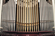 canvas print picture - Church organ