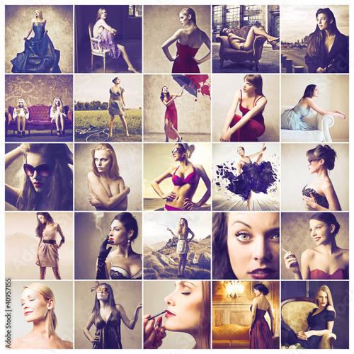 Valokuvatapetti Feminine beauty