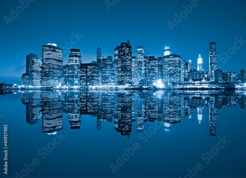 Manhattan, New York City. USA. Wallpaper Mural