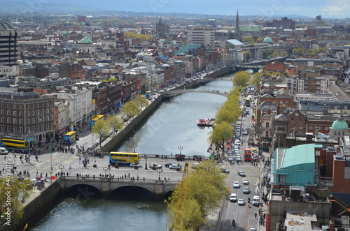 Photo  Dublin City Scape