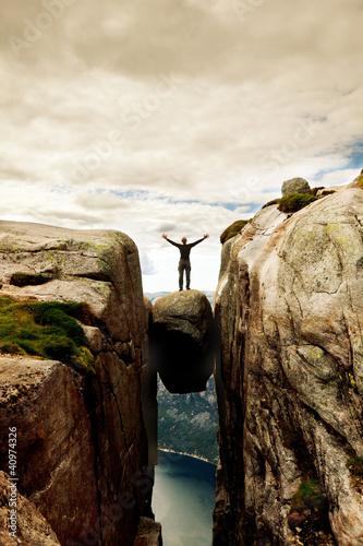 Fotografie, Obraz  Norway hike