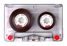 Audio Cassette With Color Labe...
