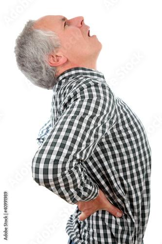 Fotografía  Rückenschmerzen