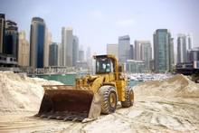 Construction Tractor In Dubai, United Arab Emirates .