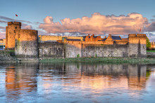 King John Castle In Limerick, ...