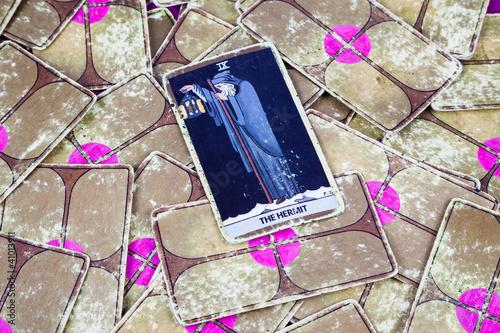 Fotomural The Hermit, Tarot card, Major Arcana (2)