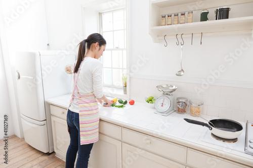 Fotografía  料理する女性