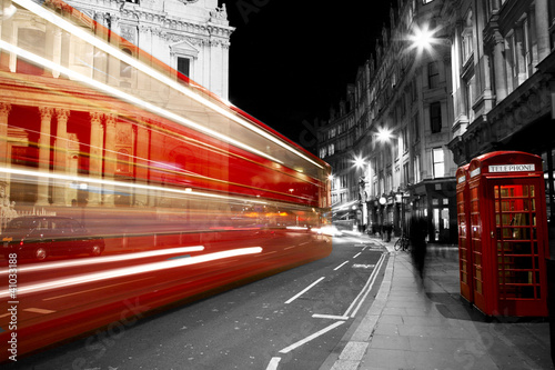 Poster Photo of the day Red Telephone Booth