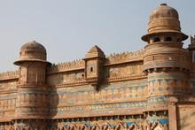 Man Sight Palace At The Gwalio...