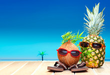 Fruity Friends In Tropical Par...