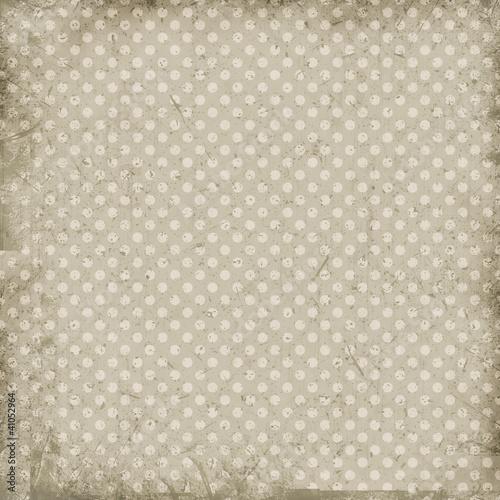 Papiers peints Retro grunge dots background