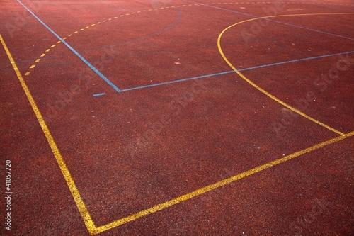 Foto-Schmutzfangmatte - Spielfeld (von Nordreisender)