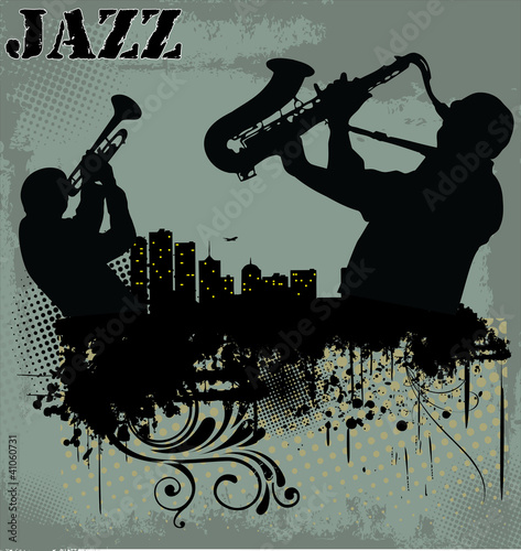 Jazz music background Poster