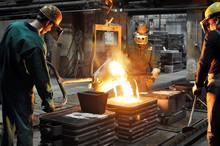 Industriearbeiter Giesserei // Foundry Industry Employees