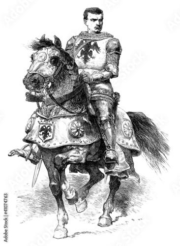 Recess Fitting Art Studio Knight - 14th century