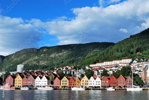 Poster Scandinavie Bergen (Norway)