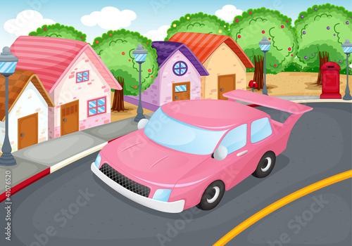 Keuken foto achterwand Cars driving