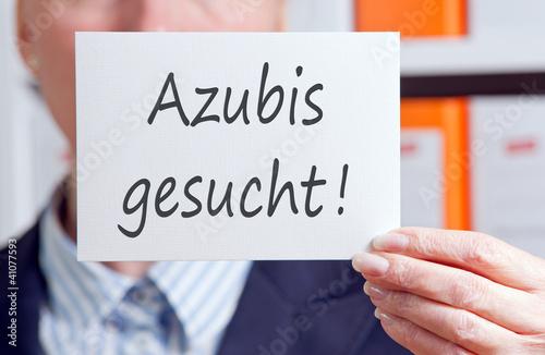Fotografía  Azubis gesucht !