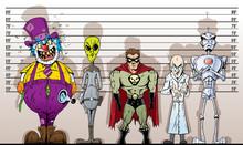 Super Villain Lineup