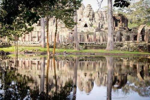 Foto  Bayon Tempel