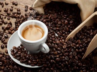 Naklejka Espresso coffee cup