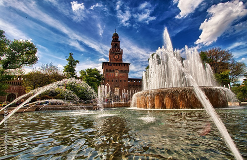 Hdr.....Castello Sforzesco Milano
