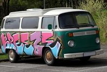 Hippie Camper Van