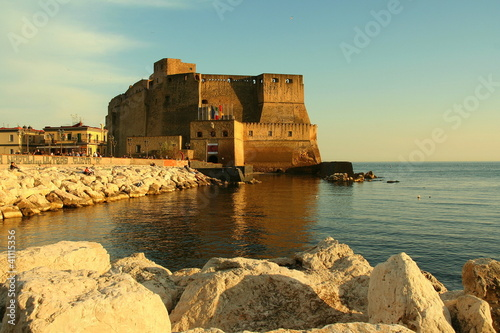Papiers peints Naples Castel dell'Ovo