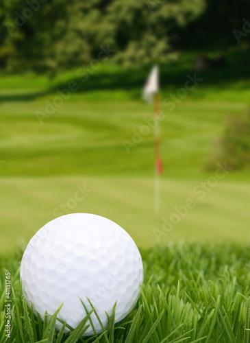 Foto op Canvas Golf Golf Ball