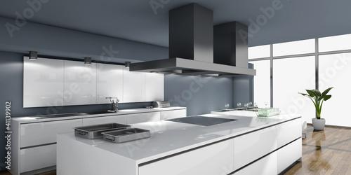 moderne küche Tapéta, Fotótapéta