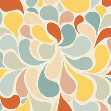 Abstract Retro Background And ...