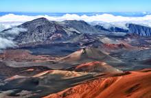 Vulkankrater Haleakala (Hawaii) - HDR-image