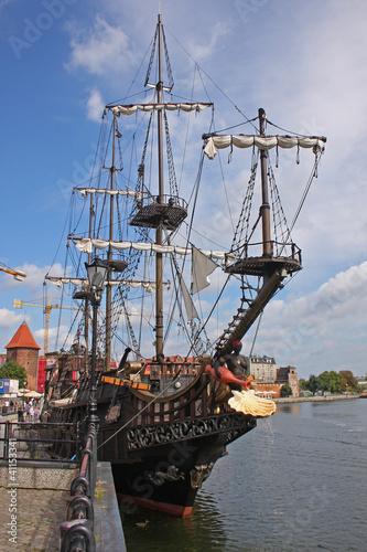Photo Stands Ship Polen - Danzig