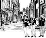 zespół jazzowy na Kubie - 41154967