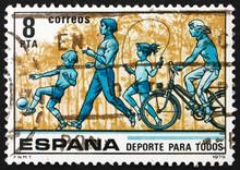 Postage Stamp Spain 1979 Child...