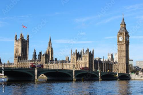 Fotografia  Big Ben and The Houses of Parliament