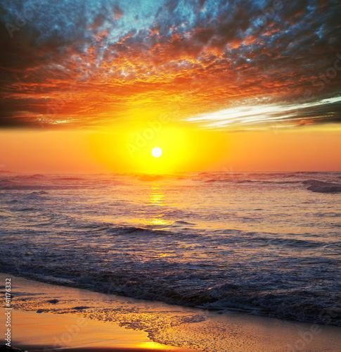 Sea sunset - 41176332