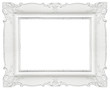 canvas print picture - White frame