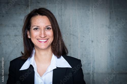 Fotografie, Obraz  glücklich lachende geschäftsfrau