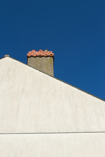 Wall, Chimney And Sky.