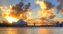 Sydney Harbour With Opera Hous...