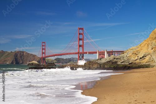 Keuken foto achterwand San Francisco San Francisco Golden Gate bridge