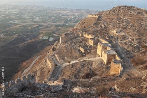 Valokuva  Greece. Fortress Acrocorinth