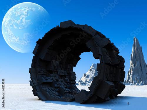 3d Fantasy landscape - 41229381