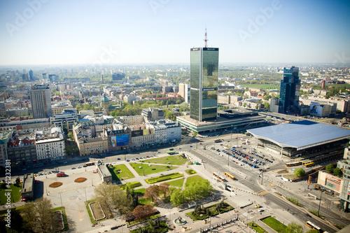 Fototapeta premium Warszawa - panorama