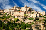 Provence village Gordes scenic overlook