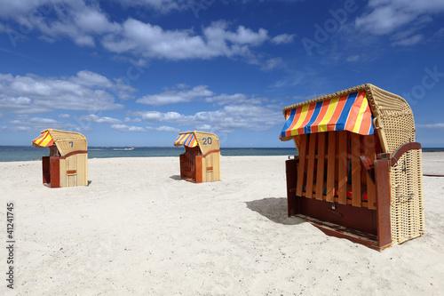 Foto Rollo Basic - Strandkorb (von osbourne28)